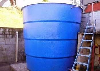 Caixa d'água de fibra no ceará