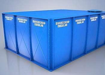 Reservatório modular makrocaixa