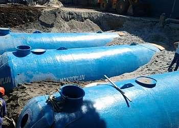 Reservatório para água de chuva